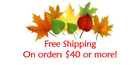 Free Shipping - Fall